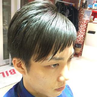 ショートバング ストリート アシメバング ショート ヘアスタイルや髪型の写真・画像