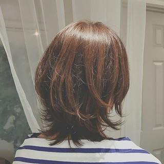 こなれ感 デート ゆるふわ ミディアム ヘアスタイルや髪型の写真・画像