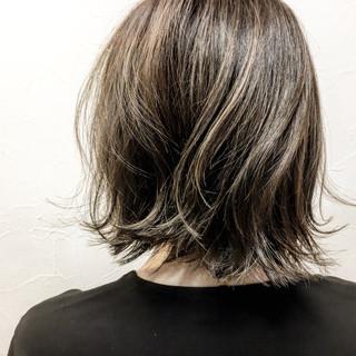 色気 切りっぱなし 外ハネ こなれ感 ヘアスタイルや髪型の写真・画像