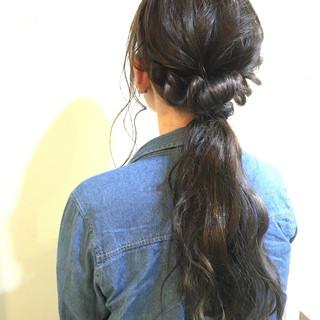 ヘアアレンジ お団子 ショート グラデーションカラー ヘアスタイルや髪型の写真・画像