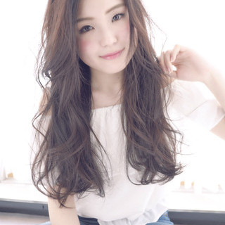 外国人風 愛され ロング 大人かわいい ヘアスタイルや髪型の写真・画像