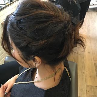 ストリート ルーズ ヘアアレンジ ボブ ヘアスタイルや髪型の写真・画像