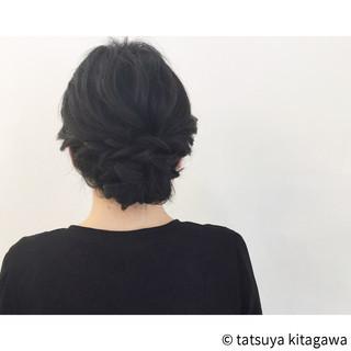 二次会 上品 ヘアアレンジ エレガント ヘアスタイルや髪型の写真・画像