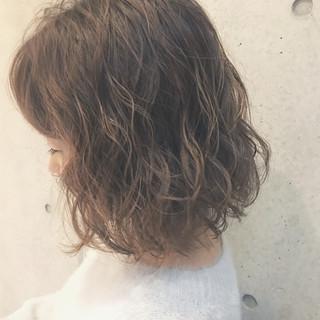デジタルパーマ 大人かわいい パーマ 冬 ヘアスタイルや髪型の写真・画像