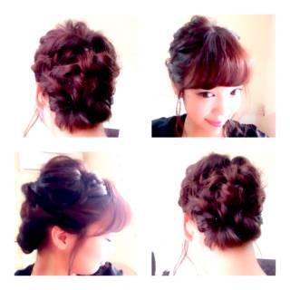 卵型 ナチュラル ヘアアレンジ モテ髪 ヘアスタイルや髪型の写真・画像 ヘアスタイルや髪型の写真・画像
