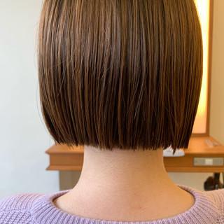 前下がり ナチュラル ショートヘア ショート ヘアスタイルや髪型の写真・画像 ヘアスタイルや髪型の写真・画像