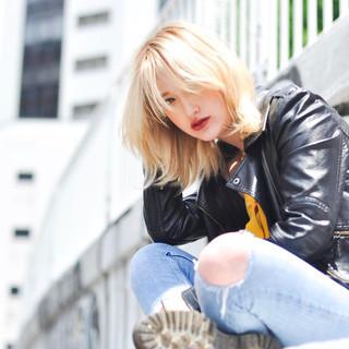 透明感カラー 外国人風 ボブ 外国人風カラー ヘアスタイルや髪型の写真・画像