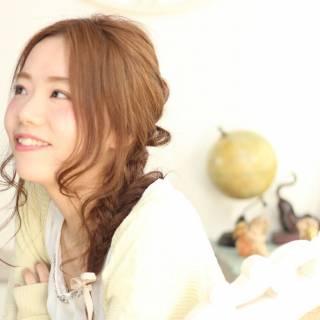 コンサバ モテ髪 春 フェミニン ヘアスタイルや髪型の写真・画像