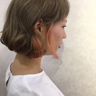 イルミナカラー グレージュ ストリート 外国人風カラー ヘアスタイルや髪型の写真・画像