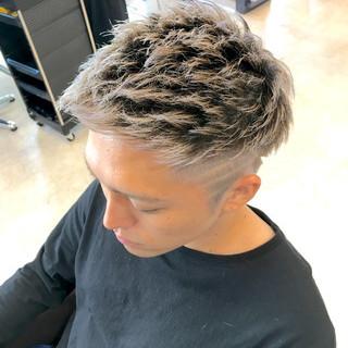 ショート モテ髪 ストリート 外国人風カラー ヘアスタイルや髪型の写真・画像