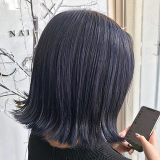 ボブ 外国人風カラー ナチュラル グレージュ ヘアスタイルや髪型の写真・画像