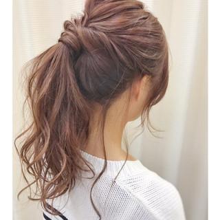 結婚式 セミロング 冬 ヘアアレンジ ヘアスタイルや髪型の写真・画像 ヘアスタイルや髪型の写真・画像