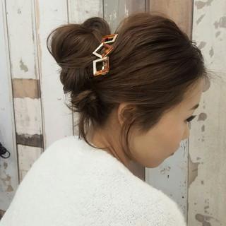 ロング ショート 大人かわいい 外国人風 ヘアスタイルや髪型の写真・画像