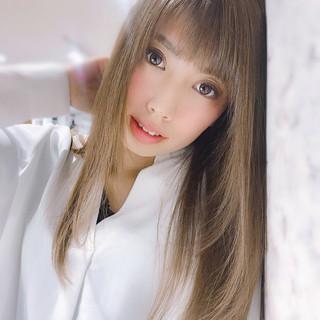 艶髪 セミロング モテ髪 透明感 ヘアスタイルや髪型の写真・画像