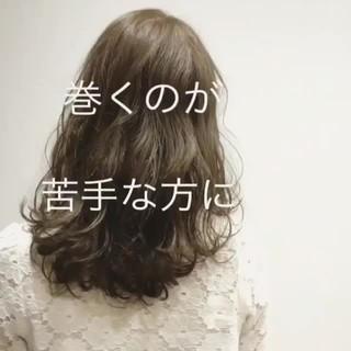 アンニュイ 秋 外国人風 透明感 ヘアスタイルや髪型の写真・画像