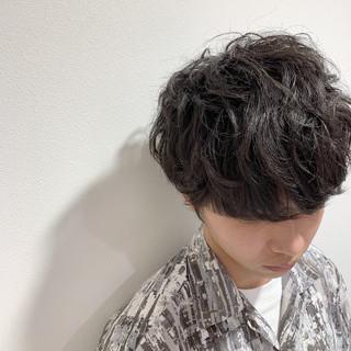 メンズヘア ナチュラル メンズマッシュ メンズショート ヘアスタイルや髪型の写真・画像