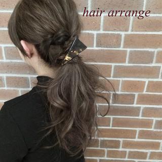 ロング 大人女子 ヘアアレンジ ショート ヘアスタイルや髪型の写真・画像