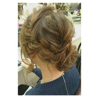 ヘアアレンジ 大人かわいい ゆるふわ シニヨン ヘアスタイルや髪型の写真・画像