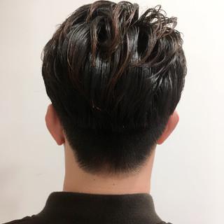 メンズショート ショート メンズカット ナチュラル ヘアスタイルや髪型の写真・画像