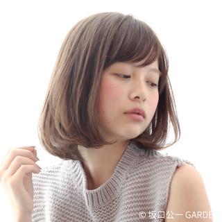 デート オフィス リラックス デジタルパーマ ヘアスタイルや髪型の写真・画像