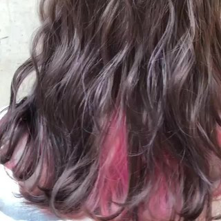 ダブルカラー セミロング ストリート バレイヤージュ ヘアスタイルや髪型の写真・画像 ヘアスタイルや髪型の写真・画像