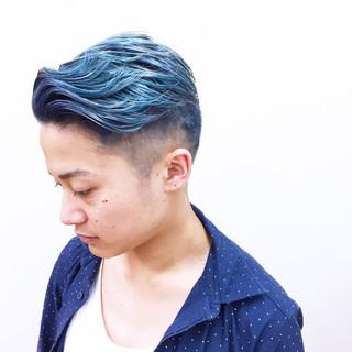 個性的 ハイトーン ストリート メンズ ヘアスタイルや髪型の写真・画像 ヘアスタイルや髪型の写真・画像
