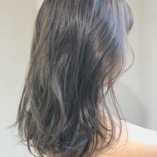 ブリーチなし セミロング スポーツ ガーリー ヘアスタイルや髪型の写真・画像