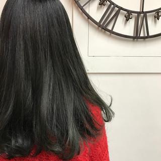 グラデーションカラー ダブルカラー ロング ワンカール ヘアスタイルや髪型の写真・画像 ヘアスタイルや髪型の写真・画像