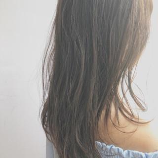 セミロング 大人かわいい ナチュラル 夏 ヘアスタイルや髪型の写真・画像