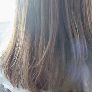 オフィス リラックス 秋 ナチュラル ヘアスタイルや髪型の写真・画像
