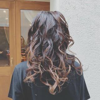 パーティ フェミニン 大人かわいい ロング ヘアスタイルや髪型の写真・画像