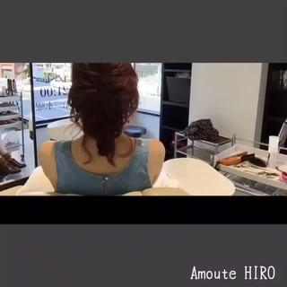 ミディアム 大人かわいい ルーズ デート ヘアスタイルや髪型の写真・画像