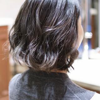 外国人風カラー バレイヤージュ ガーリー ダブルカラー ヘアスタイルや髪型の写真・画像