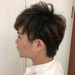 モテ髪 ナチュラル メンズ ボーイッシュ ヘアスタイルや髪型の写真・画像