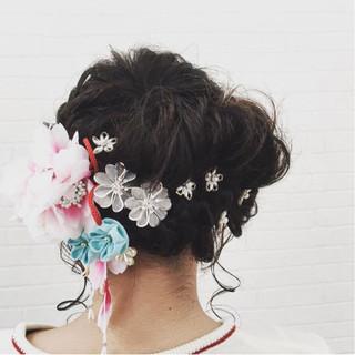 エレガント 小顔 ニュアンス デート ヘアスタイルや髪型の写真・画像 ヘアスタイルや髪型の写真・画像