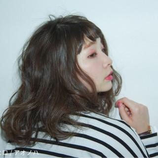 女子会 抜け感 ガーリー デート ヘアスタイルや髪型の写真・画像