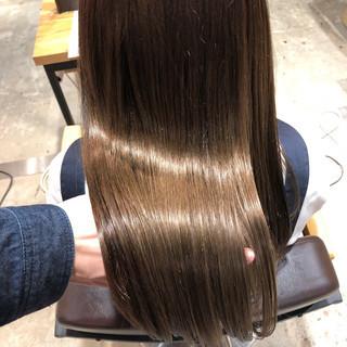 ロング oggiotto ナチュラル オフィス ヘアスタイルや髪型の写真・画像