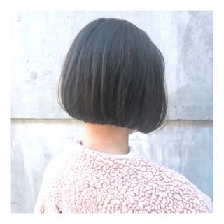 ナチュラル ショートボブ ショートヘア 大人ショート ヘアスタイルや髪型の写真・画像