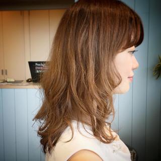 デート 夏 ミディアム ヘアアレンジ ヘアスタイルや髪型の写真・画像