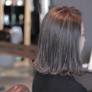 グラデーションカラー ハイライト 大人かわいい ボブ ヘアスタイルや髪型の写真・画像 ヘアスタイルや髪型の写真・画像