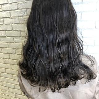 デート 髪質改善 ロング ナチュラル ヘアスタイルや髪型の写真・画像