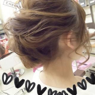 ヘアアレンジ ねじり 簡単 ナチュラル ヘアスタイルや髪型の写真・画像 ヘアスタイルや髪型の写真・画像