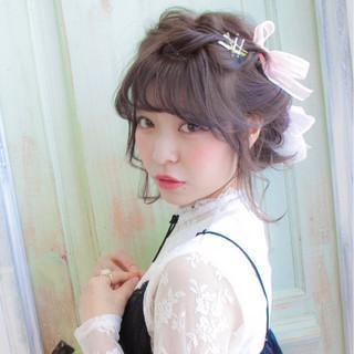 大人女子 ゆるふわ ショート ヘアアレンジ ヘアスタイルや髪型の写真・画像