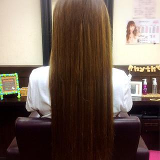 モテ髪 ロング ナチュラル 冬 ヘアスタイルや髪型の写真・画像