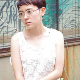 ナチュラル 外国人風 ウェットヘア ピュア ヘアスタイルや髪型の写真・画像
