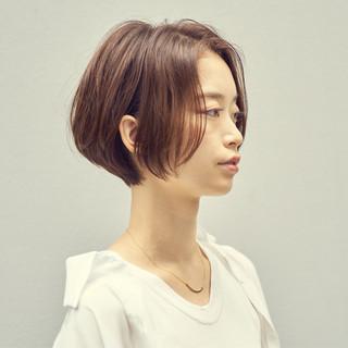 大人グラボブ ショートボブ ショートヘア ミニボブ ヘアスタイルや髪型の写真・画像