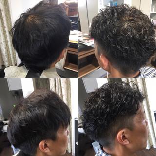 ストリート ショート メンズパーマ メンズマッシュ ヘアスタイルや髪型の写真・画像