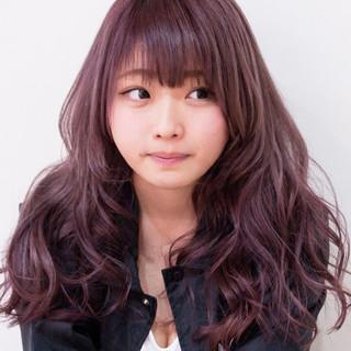 渋谷系 ピンク 大人かわいい ストリート ヘアスタイルや髪型の写真・画像
