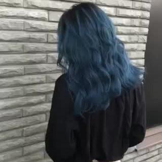 外国人風 外国人風カラー モード セミロング ヘアスタイルや髪型の写真・画像