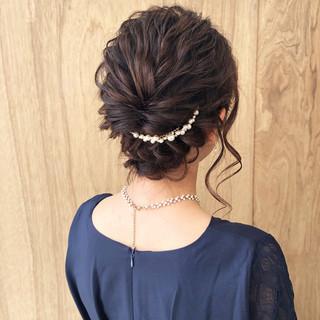デート 簡単ヘアアレンジ フェミニン セルフヘアアレンジ ヘアスタイルや髪型の写真・画像